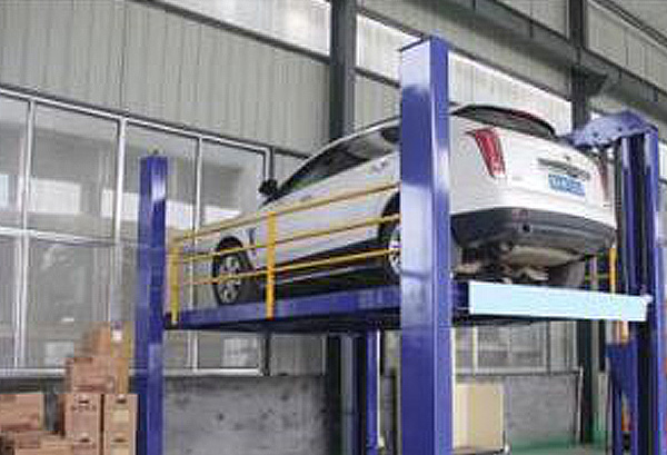 Lead Rail Car Lift Platform