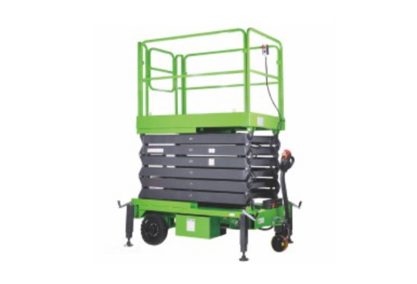 Manual Mobile Scissor Lift Platform
